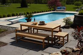brunswick teak outdoor dining set