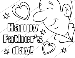 happy fathers day coloring page 2018