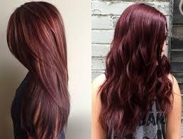 Mahogany Red Hair Color Chart Mahogany Hair Colour Chart Lajoshrich Com