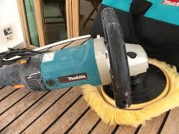 makita polisher. makita polisher / sander + pads discs wax sint maarten