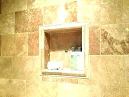 recessed shower shelves tile niches ceramic niche insert shelf stylish inside