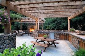 wood picnic tables hibachi grill patio craftsman with black freestanding stoves outdoor wood picnic table wood picnic tables