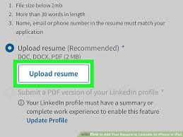 Add Resume To Linkedin Amazing How To Add Your Resume To LinkedIn On IPhone Or IPad 60 Steps
