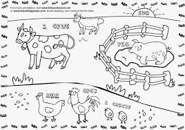 Coloring Pages Farm Animals Beautiful Photography Free Farm Animal