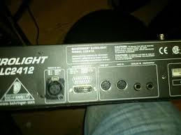 behringer lc2412 dmx light controller