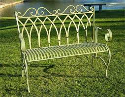 Cast Wrought Iron Garden Bench U2014 Jbeedesigns Outdoor  Wrought Outdoor Wrought Iron Bench