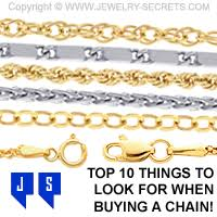 Necklace Thickness Chart Chain Buying Guide 10 Things To Consider When Buying A