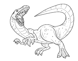 Angry Tyrannosaurus Rex Coloring Pages For Kids Printable Free
