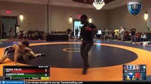 Junior Men (Must Be In HS) 145 Derek Fields Ohio Vs Andreus Bond Florida -  YouTube