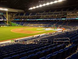 Marlins Stadium Seating Chart Marlins Park Section 24 Seat Views Seatgeek
