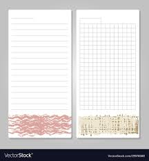 Notebook Templates Notebook Page Templates With Paper For Notes