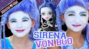 monster high sirena von boo makeup tutorial collab cuteshairstyles kittiesmama you