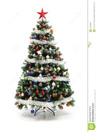 Royalty-Free Stock Photo. Download Colorful Decorated Artificial Christmas  Tree ...