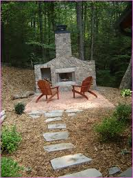 build your own outdoor fireplace decorating ideas
