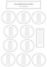 sines of learning half circle seating chart template round table card templates word