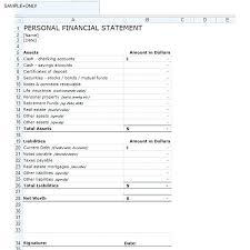 financial statement format real estate financial statement template