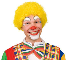 clown makeup make up leicht made colorful fly