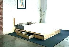 High Platform Bed Frame Queen Tall With Storage Elevated B – jocuri ...