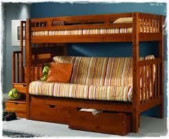 wooden futon bunk beds wood futon