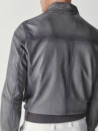 massimo dutti er style nappa leather jacket 4