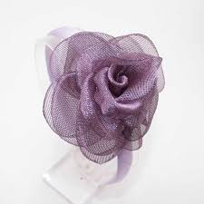 10 Colors Headband Rose <b>Hair</b> Band Children <b>Chiffon Flower</b> ...