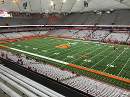 Carrier Dome Section 316 Syracuse Football Rateyourseats Com
