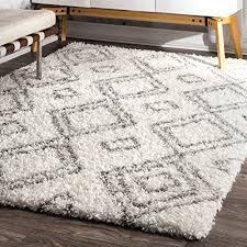 nuloom rug 7 x 10 white