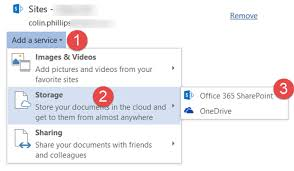 Connect Office 2016 To An Office 365 Tenant Sharepoint Mmman
