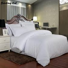 2019 100 cotton satin stripe hotel home duvet cover solid white color soft comfortable quilt cover twin full queen king size from hilery 45 38 dhgate