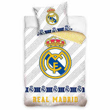 real madrid single duvet set oc