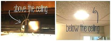 dropped ceiling light box drop ceiling light install drop ceiling incredible how to install can lights
