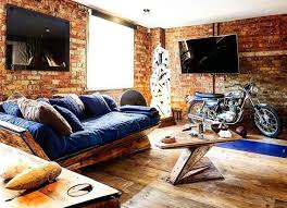bachelor furniture. Denim Couch With Wood Frame Bachelor Pad Furniture