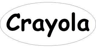 printable crayola logo crayola crayon