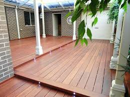 how to build a wood deck over a concrete patio