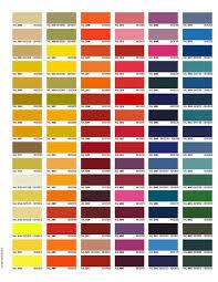 Powder Coat Ral Chart Color Charts Trojan Powder Coating