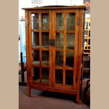 craftsman furniture. Gustav Stickley China Cabinet Craftsman Furniture
