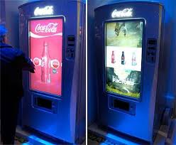Coca Cola Touch Screen Vending Machine Delectable Touchscreen Soda Machines Samsung UVending Dispenses Food Internet