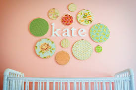 embroidery hoop wall art crib wall on diy wall art for girl nursery with what s all the hoopla about project nursery
