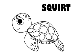 Crush And Squirt Coloring Pages Download And Print For Free Craft