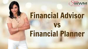 Financial Advisor vs Financial Planner - YouTube
