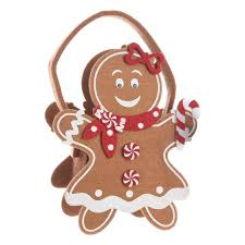 gingerbread woman. Beautiful Woman Gingerbread Woman Cookie Bag Throughout O