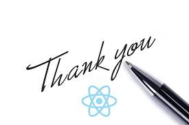 Thank You Letter Dear React A Thank You Letter FreeCodeCamp 16