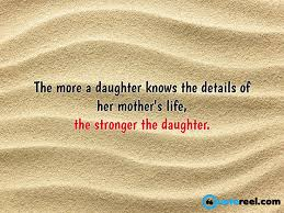 Mother Daughter Quotes Interesting Mother Daughter Quote To Inspire You 48 QuoteReel