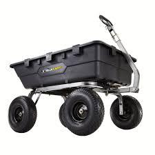 wheelbarrows yard carts garden tools the home depot 1 500 lb
