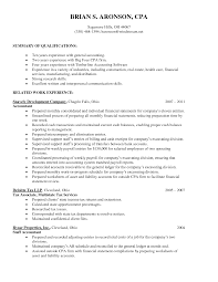 accounting resume cover letters