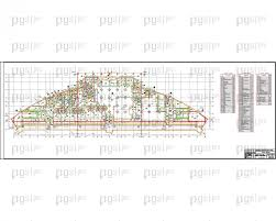 Скачать бесплатно дипломный проект ПГС Диплом № Открытый  План первого этажа Внимание так же в комплекте есть чертежи 2 3 4 этажа jpg