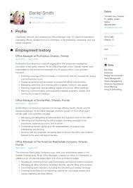 Office Admin Resume Samples Resume Guide Office Manager Resume Samples Medical