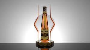 metaxa honey shot bar display proposals