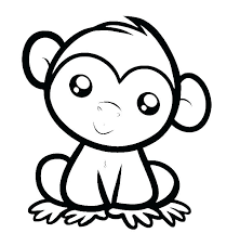 Free Baby Monkey Coloring Pages Monkey Coloring Pages Printable