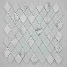 black and white diamond tile floor. GM Diamond Calacatta Black And White Tile Floor G
